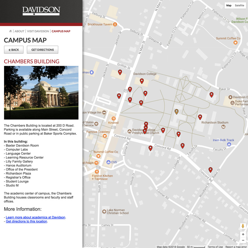 Image associated with Davidson College